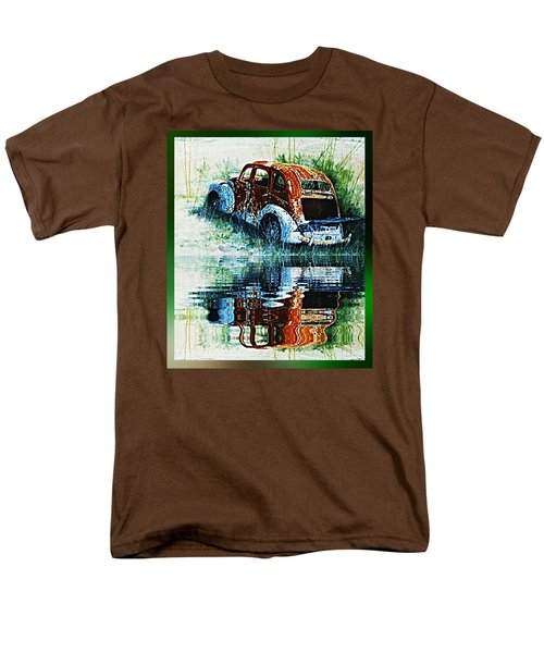 As Time Goes By. . . Men's T-Shirt  (Regular Fit) by Hartmut Jager