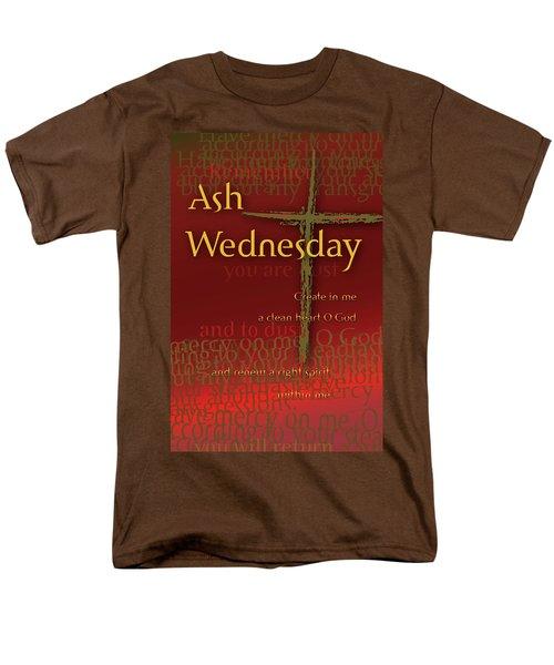 Ash Wednesday Men's T-Shirt  (Regular Fit) by Chuck Mountain