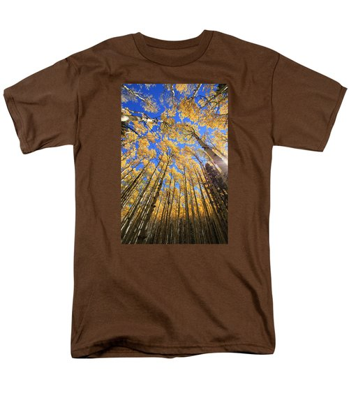 Men's T-Shirt  (Regular Fit) featuring the photograph Aspen Hues by Tom Kelly