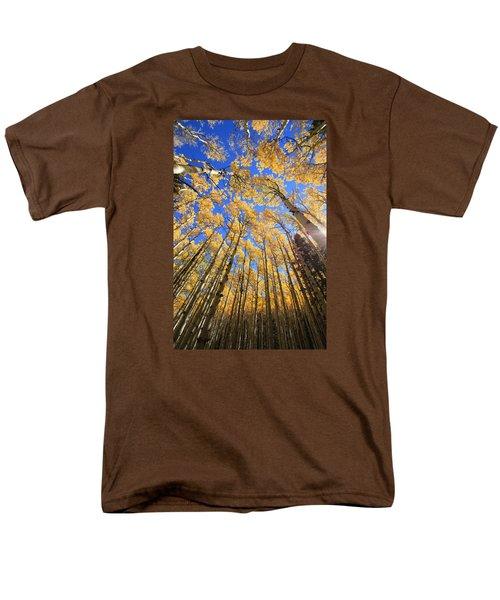 Aspen Hues Men's T-Shirt  (Regular Fit) by Tom Kelly
