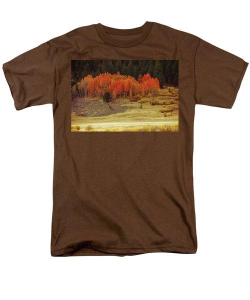 Aspen, October, Hope Valley Men's T-Shirt  (Regular Fit) by Michael Courtney