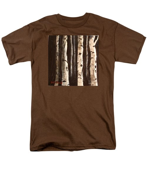 Aspen Stand Men's T-Shirt  (Regular Fit) by Phyllis Howard