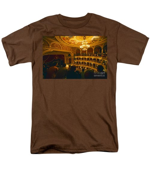 At The Budapest Opera House Men's T-Shirt  (Regular Fit) by Madeline Ellis