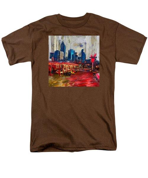 Atlanta Skyline 231 1 Men's T-Shirt  (Regular Fit) by Mawra Tahreem