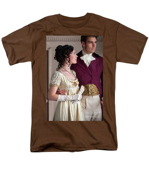 Attractive Regency Couple Men's T-Shirt  (Regular Fit) by Lee Avison