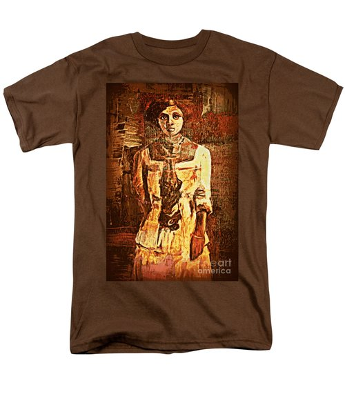 Auntie Men's T-Shirt  (Regular Fit) by Vannetta Ferguson