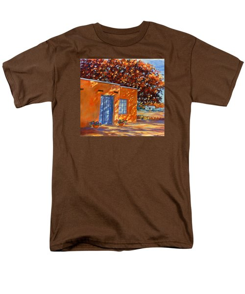 Men's T-Shirt  (Regular Fit) featuring the painting Autumn Afternoon by Ann Peck