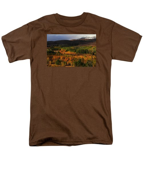 Autumn Aspen At Conway Summit In The Eastern Sierras Men's T-Shirt  (Regular Fit) by Jetson Nguyen