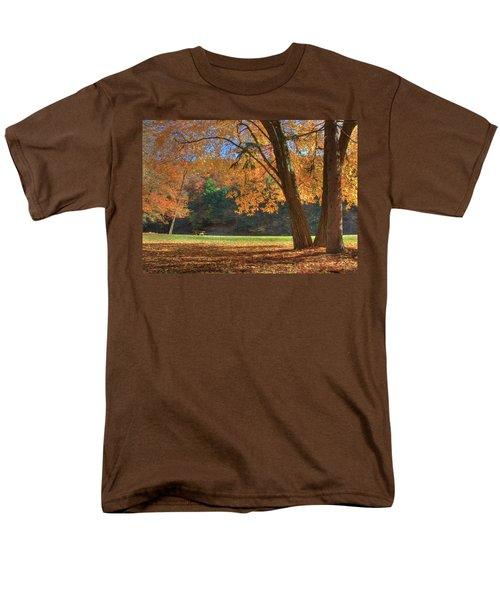 Men's T-Shirt  (Regular Fit) featuring the photograph Autumn At Lykens Glen by Lori Deiter