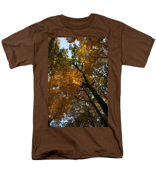 Men's T-Shirt  (Regular Fit) featuring the photograph Autumn Canopy by Shari Jardina