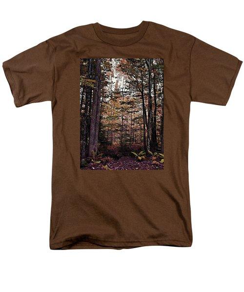 Autumn Color In The Woods Men's T-Shirt  (Regular Fit) by Joy Nichols