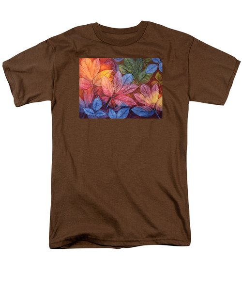 Men's T-Shirt  (Regular Fit) featuring the painting Autumn Color by Nancy Jolley