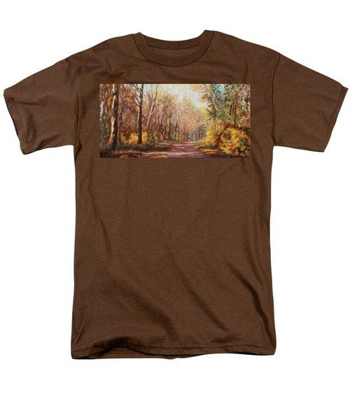 Autumn Colors Men's T-Shirt  (Regular Fit) by Bonnie Mason
