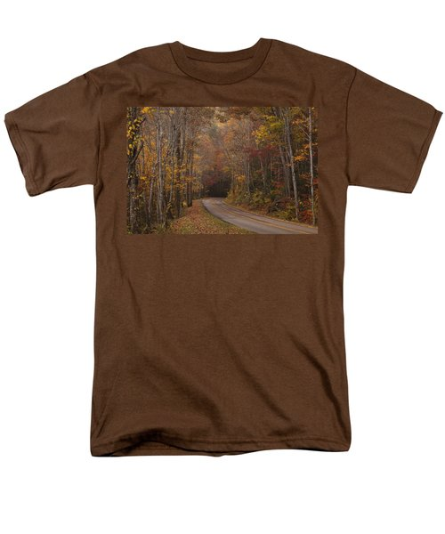 Autumn Drive Men's T-Shirt  (Regular Fit) by Andrew Soundarajan