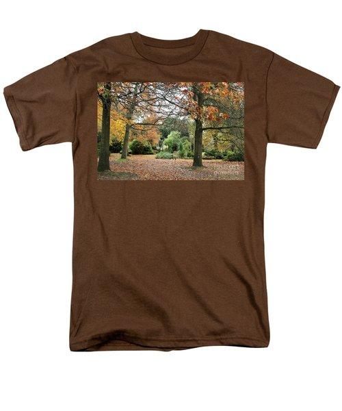 Autumn Fall Men's T-Shirt  (Regular Fit) by Katy Mei