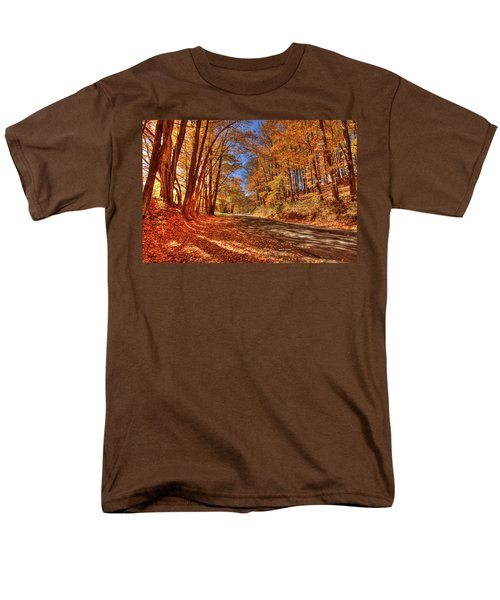 Autumn Glow Men's T-Shirt  (Regular Fit) by Dale R Carlson