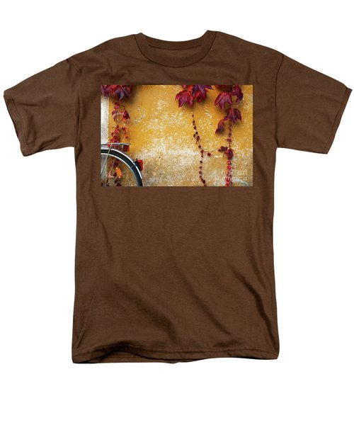 Men's T-Shirt  (Regular Fit) featuring the photograph Autumn In Red by Yuri Santin