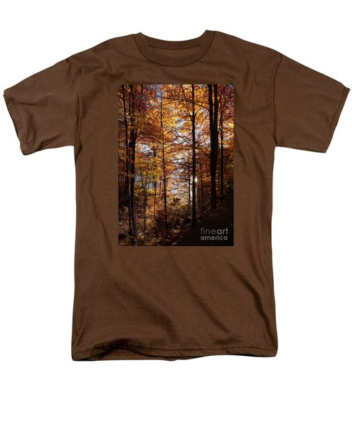 Autumn In The Alps 4 Men's T-Shirt  (Regular Fit) by Rudi Prott