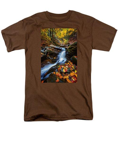 Autumn In The Catskills Men's T-Shirt  (Regular Fit) by Rick Berk