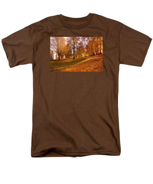 Autumn In The City Park Maastricht Men's T-Shirt  (Regular Fit) by Nop Briex