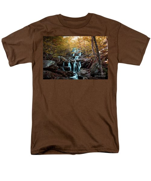 Autumn In The Mountains Men's T-Shirt  (Regular Fit) by Rebecca Davis