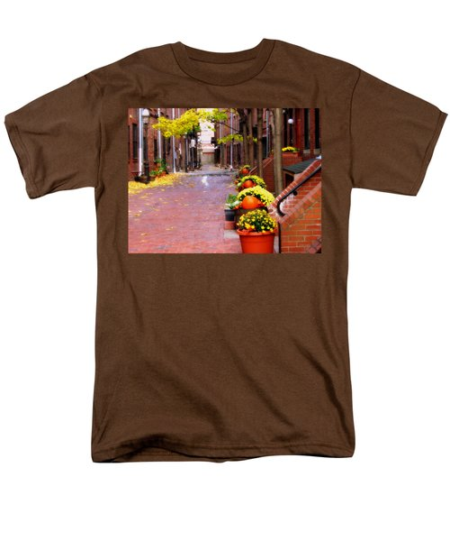 Men's T-Shirt  (Regular Fit) featuring the photograph Autumn In The North End by Bruce Carpenter