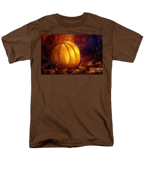 Autumn Landscape Painting Men's T-Shirt  (Regular Fit) by Annie Zeno