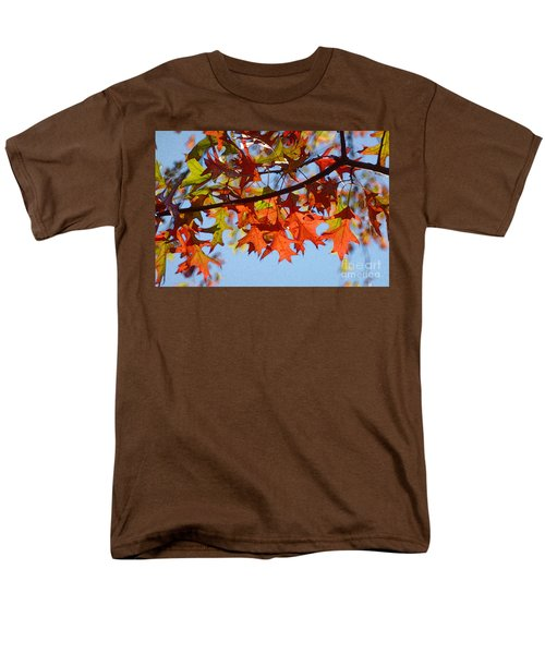 Autumn Leaves 16 Men's T-Shirt  (Regular Fit) by Jean Bernard Roussilhe