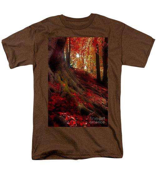 Autumn Light Men's T-Shirt  (Regular Fit) by Hannes Cmarits