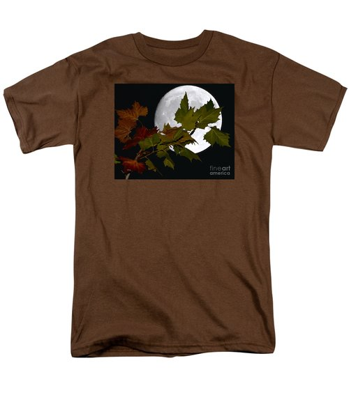 Men's T-Shirt  (Regular Fit) featuring the photograph Autumn Moon by Patrick Witz
