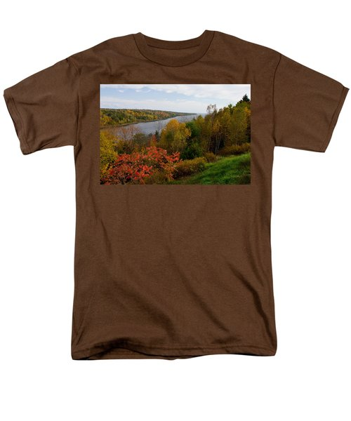 Autumn On The Penobscot Men's T-Shirt  (Regular Fit) by Brent L Ander