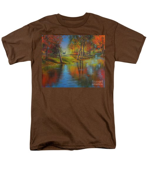 Autumn Reflections Men's T-Shirt  (Regular Fit) by Jeanette French