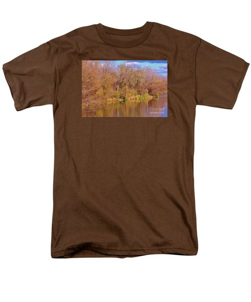 Autumn Reflections Men's T-Shirt  (Regular Fit) by Reb Frost