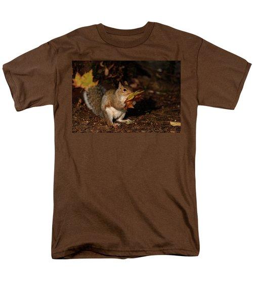 Autumn Squirrel Men's T-Shirt  (Regular Fit) by Matt Malloy