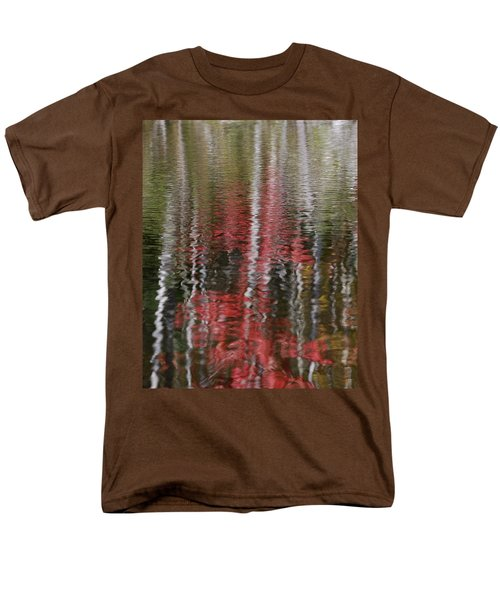 Men's T-Shirt  (Regular Fit) featuring the photograph Autumn Water Color by Susan Capuano