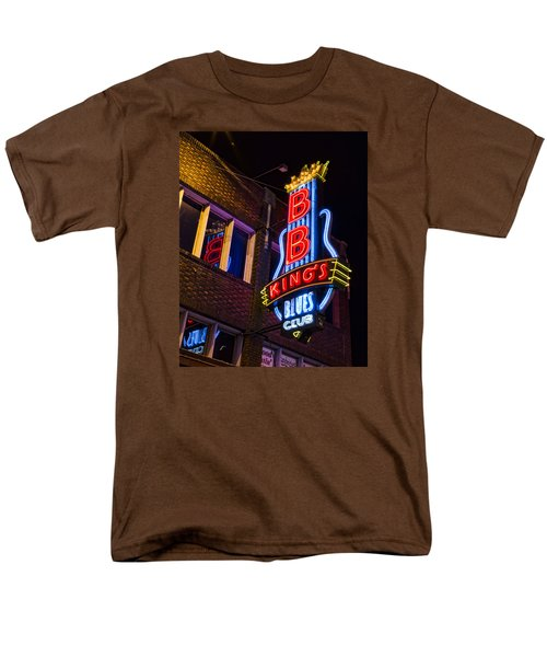 B B Kings On Beale Street Men's T-Shirt  (Regular Fit) by Stephen Stookey