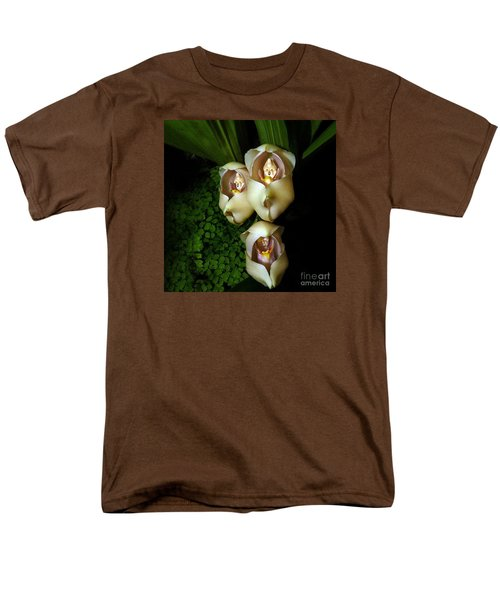 Babies In The Cradle - Floral Oddity Men's T-Shirt  (Regular Fit) by Merton Allen