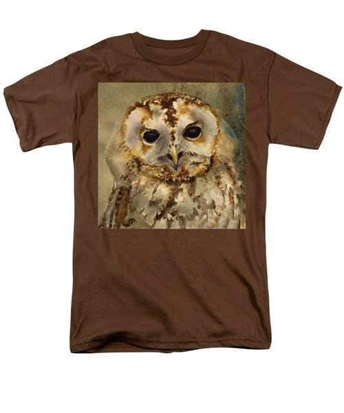 Baby Barred Owl Men's T-Shirt  (Regular Fit)