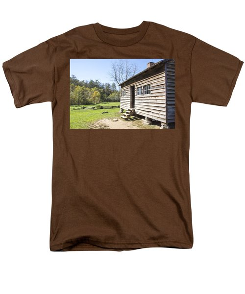 Back Porch Men's T-Shirt  (Regular Fit) by Ricky Dean