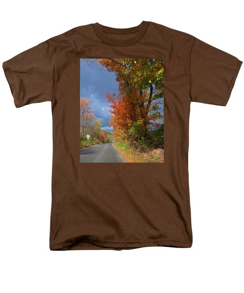 Backroad Country In Pennsylvania Men's T-Shirt  (Regular Fit) by Jeanette Oberholtzer