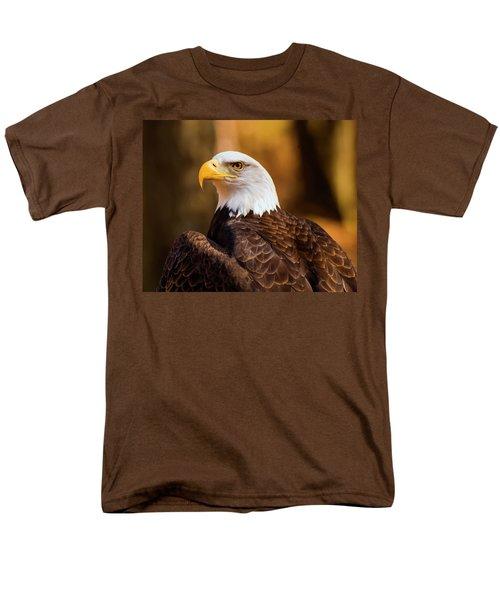Bald Eagle 2 Men's T-Shirt  (Regular Fit) by Chris Flees