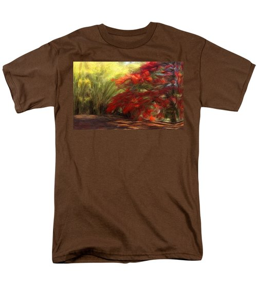 Bamboo And The Flamboyant Men's T-Shirt  (Regular Fit) by Caito Junqueira
