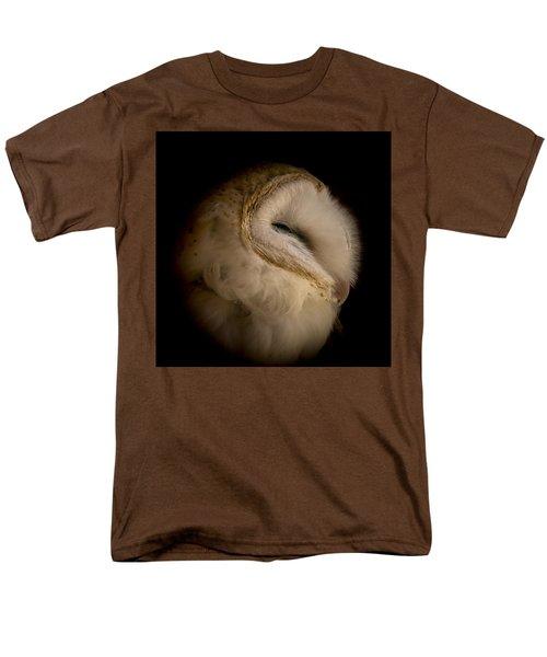 Barn Owl 6 Men's T-Shirt  (Regular Fit) by Ernie Echols