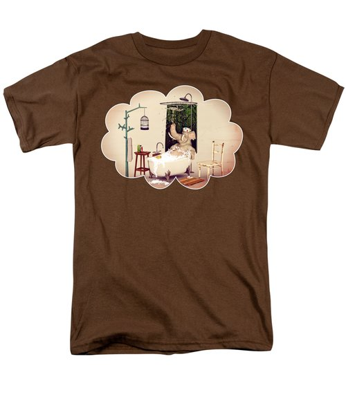 Bath Time Men's T-Shirt  (Regular Fit) by Methune Hively