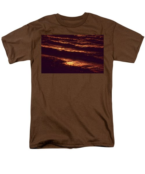 Beach Fire Men's T-Shirt  (Regular Fit) by Laurie Stewart