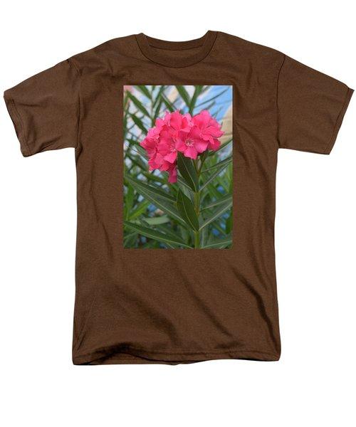 Beach Flower Men's T-Shirt  (Regular Fit) by Deborah  Crew-Johnson