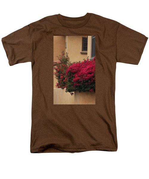 Beautiful Balcony With Bougainvillea Men's T-Shirt  (Regular Fit) by Ivete Basso Photography