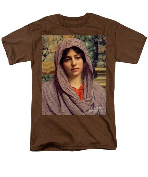 Beautiful Brunette 1918 Men's T-Shirt  (Regular Fit) by Padre Art