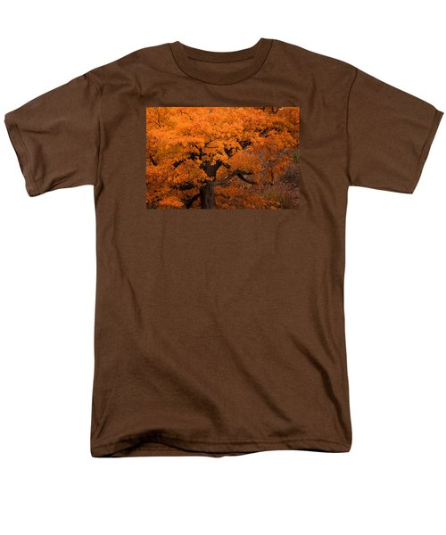 Beautiful Orange Tree On A Fall Day Men's T-Shirt  (Regular Fit) by Joni Eskridge