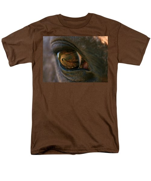 Beauty Is In The Eye Of The Beholder Men's T-Shirt  (Regular Fit) by Angela Rath